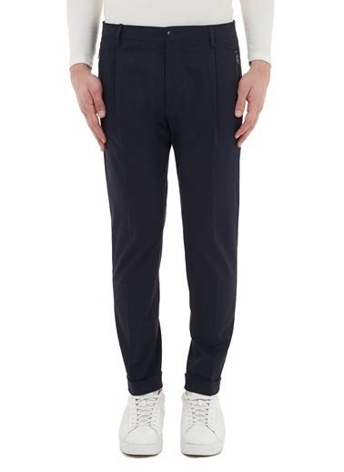 Etro  Pamuklu Slim Fit Cepli Pantolon Erkek Pantolon 1W667 0180 0200 Lacivert